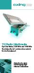 Flyer Optische Nodes und CATV Verstärker